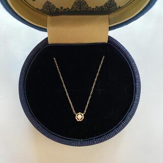 VERITE ベリテ QIREINI K10WG ダイヤモンドネックレス(ネックレス)