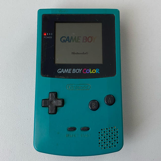 ゲームボーイ - ゲームボーイカラー ブルー CGB-001