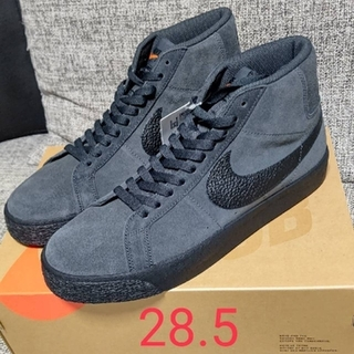 NIKE - NIKE SB BLAZER MID ORANGE LABEL ダークグレー