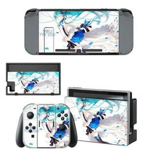 ニンテンドースイッチ スキンシール 新品 ミク2(携帯用ゲームソフト)