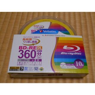 未使用 BD-RE DL 50GB 10枚 三菱化学