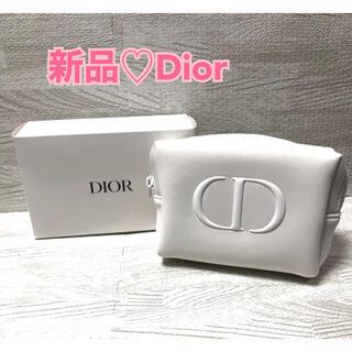 Dior - 【新品未使用】Dior ディオール ノベルティ コスメポーチ ホワイト