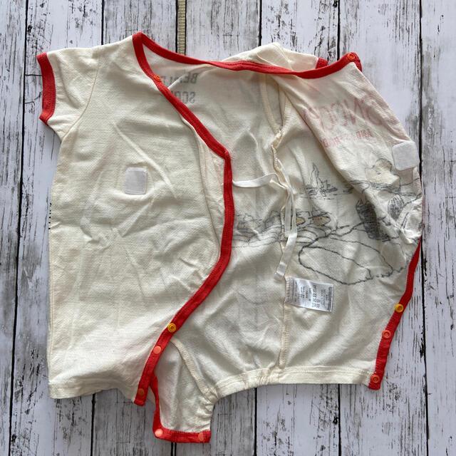 SNOOPY ロンパース 60-70 キッズ/ベビー/マタニティのベビー服(~85cm)(ロンパース)の商品写真