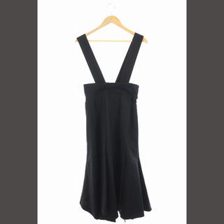 エンフォルド(ENFOLD)のエンフォルド ENFOLD 18SS ジャンパースカート ロング 36 黒 /K(その他)