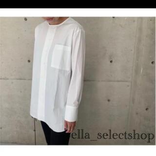 DEUXIEME CLASSE - ella_selectshop バンドカラーシャツ ブラウス