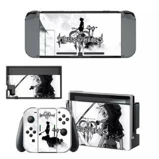 ニンテンドースイッチ スキンシール 新品 キングダムハーツ5(携帯用ゲームソフト)