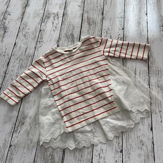 アプレレクール 90(80)チュニック(Tシャツ/カットソー)