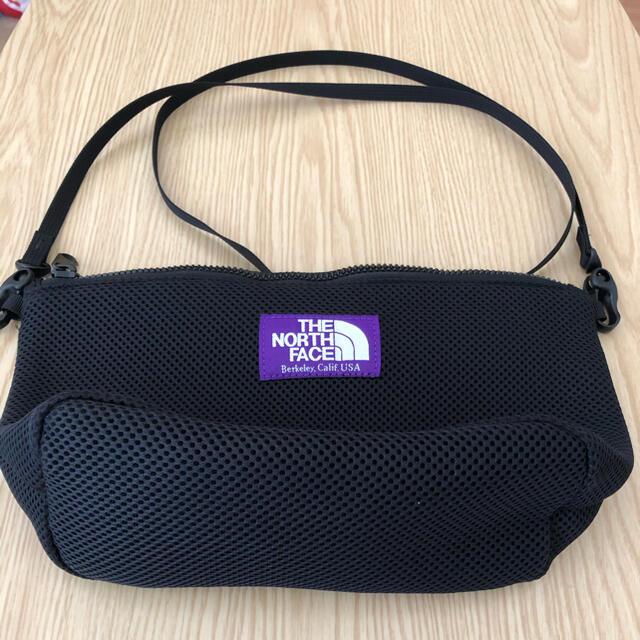 THE NORTH FACE(ザノースフェイス)のTHE NORTH FACE PURPLE  LABEL メッシュポーチ レディースのバッグ(ショルダーバッグ)の商品写真