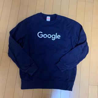 グーグル(Google)のGoogle トレーナー ネイビー(トレーナー/スウェット)