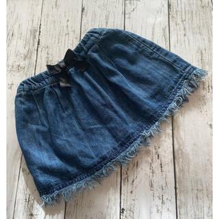 ブリーズ(BREEZE)のブリーズ デニム風スカート90(80)(スカート)
