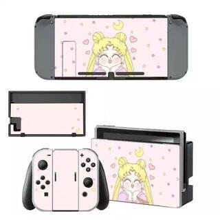 ニンテンドースイッチ スキンシール 新品 セーラームーン(携帯用ゲームソフト)