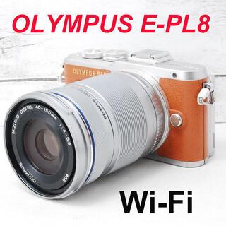 OLYMPUS - ❤️人気ブラウンカラー❤️Wi-Fi&自撮り❤️OLYMPUS E-PL8