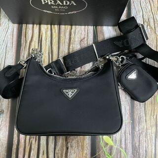 PRADA - プラダ ショルダーバッグ 黒