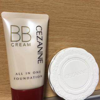 セザンヌケショウヒン(CEZANNE(セザンヌ化粧品))のセザンヌ BBクリーム03とUVシルクパウダー01(BBクリーム)