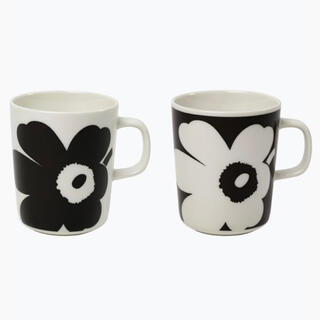 marimekko - マリメッコ 70周年記念 ペアマグカップ