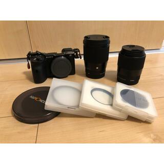 SONY - SONY α6600 5年保証 レンズ、フィルターセット
