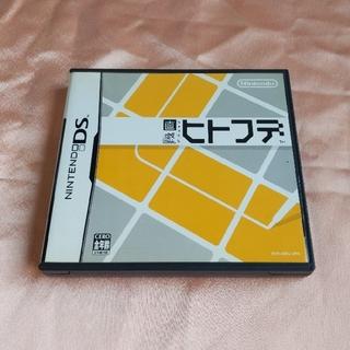 ニンテンドーDS(ニンテンドーDS)のジャンク品 直感ヒトフデ DS(携帯用ゲームソフト)
