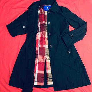 BURBERRY BLUE LABEL - burberryバーバリーステンカラーコートジャケット 美品