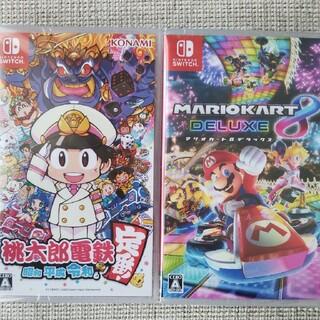 ニンテンドースイッチ(Nintendo Switch)の桃太郎電鉄   マリオカート8(家庭用ゲームソフト)
