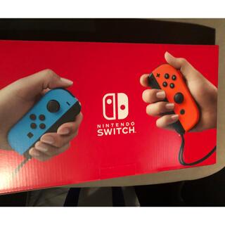 Nintendo Switch - ☆新品☆ ニンテンドースイッチ ネオンブルー・レッド 新モデル 本体