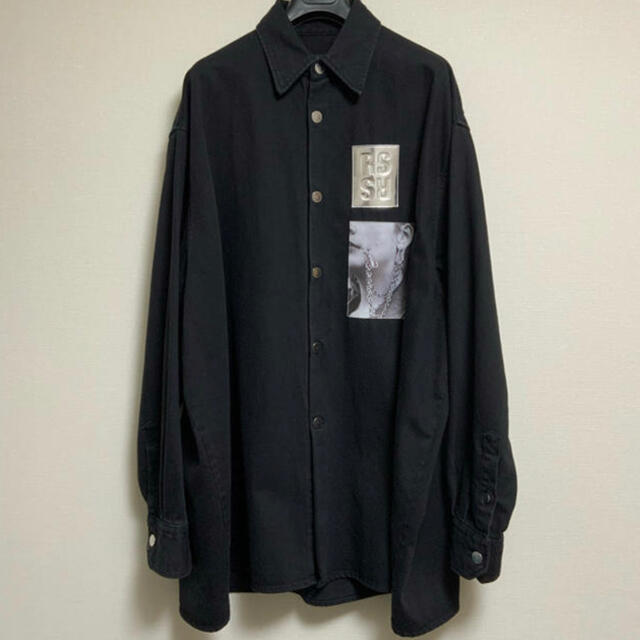 RAF SIMONS(ラフシモンズ)のRAF SIMONS ラフシモンズ デニムジャケット  デニムシャツ Sサイズ メンズのジャケット/アウター(Gジャン/デニムジャケット)の商品写真