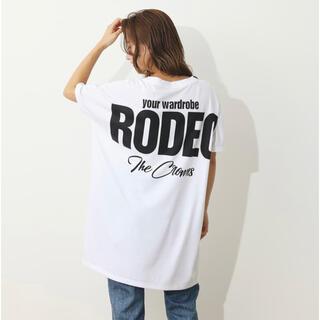RODEO CROWNS WIDE BOWL - ロデオクラウンズ★BIGロゴワンピース