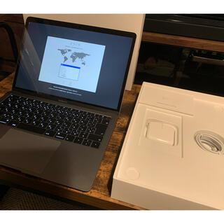 マック(Mac (Apple))のほぼ新品 MacBook Air 13インチ Mid2019 MVFJ2J/A(ノートPC)
