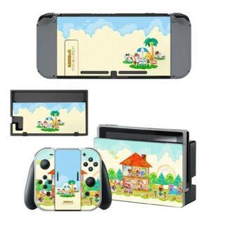 ニンテンドースイッチ スキンシール 新品 あつ森2(携帯用ゲームソフト)