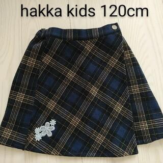 ハッカキッズ(hakka kids)の★ハッカキッズ チェックスカート 120cm(スカート)