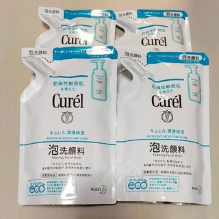 Curel - キュレル 泡洗顔料 詰替用 4個セット【新品未開封】