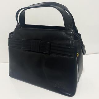 ジャンニヴェルサーチ(Gianni Versace)の【激レア!】ジャンニヴェルサーチ ハンドバッグ  ブラック 黒(ハンドバッグ)