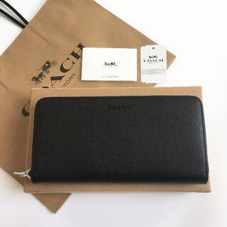 COACH - COACH/コーチ長財布 F74769 ブラック メンズ財布 新品