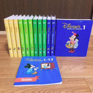 Disney - 美品2012購入 ストレートプレイDVD 字幕あり ディズニー英語システム