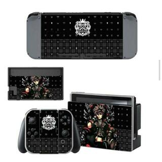 ニンテンドースイッチ スキンシール 新品 キングダムハーツ4(携帯用ゲームソフト)