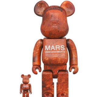 MEDICOM TOY - MARS BE@RBRICK 100% & 400%