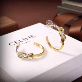 celine - CELINE ❤ ピアス 美品 実物