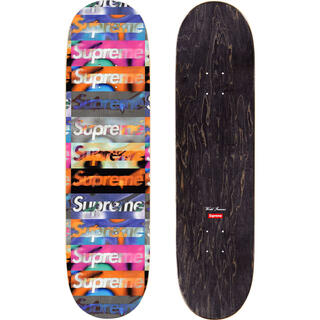 Supreme - Supreme Distorted Logo Skateboard 20ss