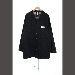 プーマ(PUMA)のプーマ PUMA × ルード RHUDE 裏地チェック ロングコート 胸ポケット(その他)