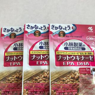 コバヤシセイヤク(小林製薬)の小林製薬ナットウキナーゼ EPA DHA30日分 3袋(その他)