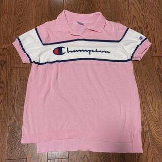 Champion - チャンピオンゴルフ ニットポロシャツ ピンク