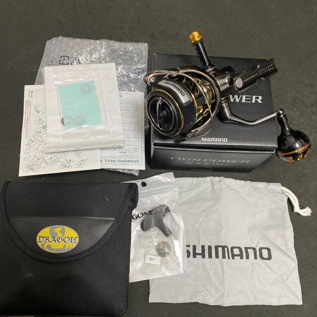 SHIMANO(シマノ)のシマノ ツインパワー 4000xg スポーツ/アウトドアのフィッシング(リール)の商品写真