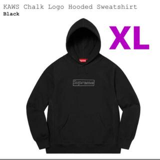 Supreme - XL supreme  KAWS Chalk Logo Hooded