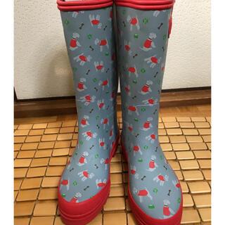 キャスキッドソン(Cath Kidston)のキャスキッドソン テリア柄長靴(レインブーツ/長靴)