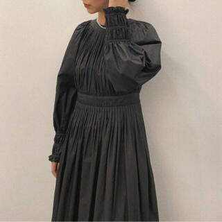 CLANE クラネ BALLOON PLEAT ONE PIECE