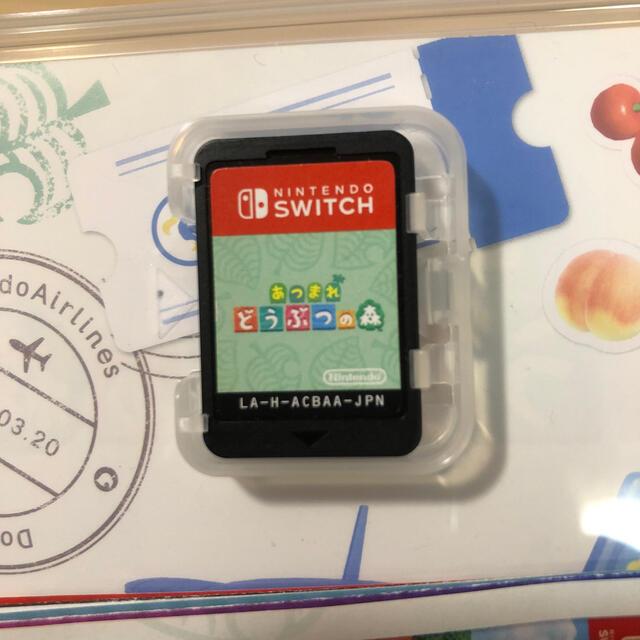 Nintendo Switch(ニンテンドースイッチ)のあつまれどうぶつの森 パッケージ版 エンタメ/ホビーのゲームソフト/ゲーム機本体(家庭用ゲームソフト)の商品写真