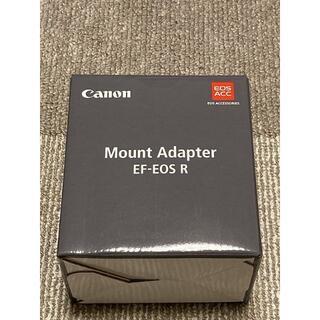 Canon - Canon キヤノン 純正 マウントアダプター EF-EOS R 新品未使用
