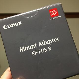 Canon - canon EF-EOS R マウントアダプター