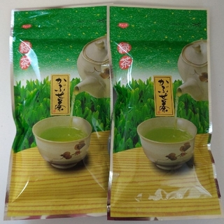 【大和茶】緑茶 かぶせ茶100g×2袋 チャック付き袋(茶)