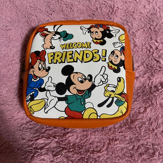 Disney - ディズニー Disney レトロ ポーチ しまむら