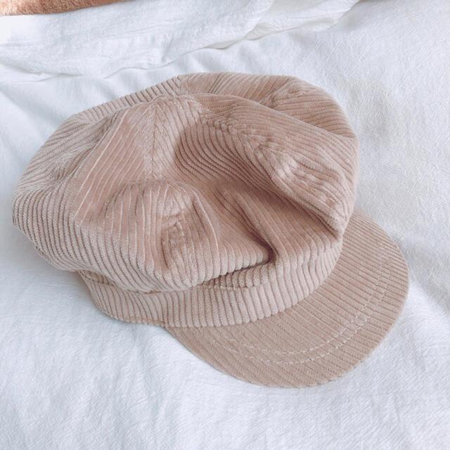 GU(ジーユー)の新品*GU*コーデュロイキャスケット レディースの帽子(キャスケット)の商品写真